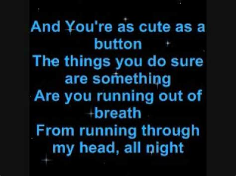 song for my boyfriend stephen jerzak with on screen lyrics sing along