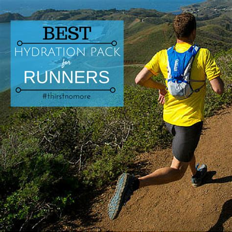 best running best hydration pack for running 2017 thirst no more the