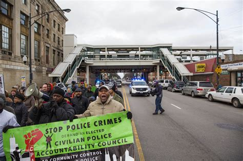 Social Security Office Chicago Cottage Grove by Laquan Mcdonald Protests Saturday Draw Only Dozens