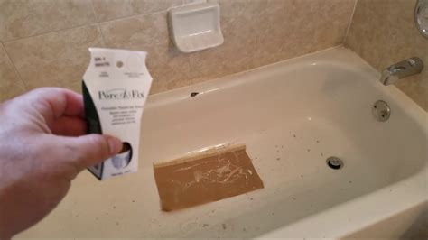 How To Repair A Chipped Porcelain Sink by Chip In Your Porcelain Tub Use This
