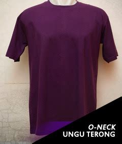 Kaos Polos V Neck Ungu Terong Cotton Combed 30 S Xl kaos polos o neck pendek 171 kaos polos kece murah