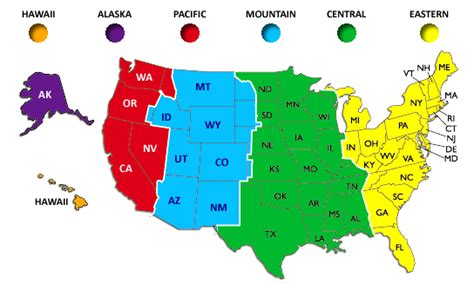 us time zones map with current local time current time in usa time zones charibas ga