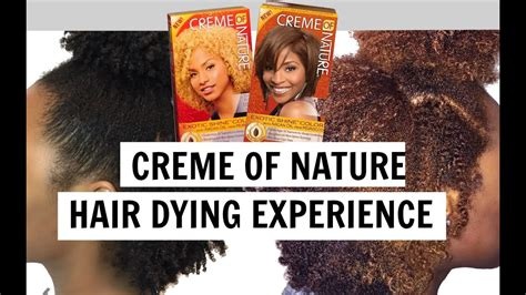 creme of nature hair colors creme of nature hair color experience tips