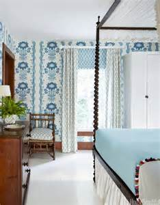 House Beautiful Bedrooms Blue And White Decorating Blue And White Rooms
