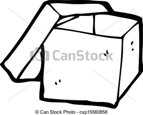 when i doodle i draw boxes clipart vector of open box csp15560858 search