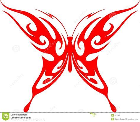 imagenes mariposas tribales mariposa llameante vector 5 tribales imagen de archivo