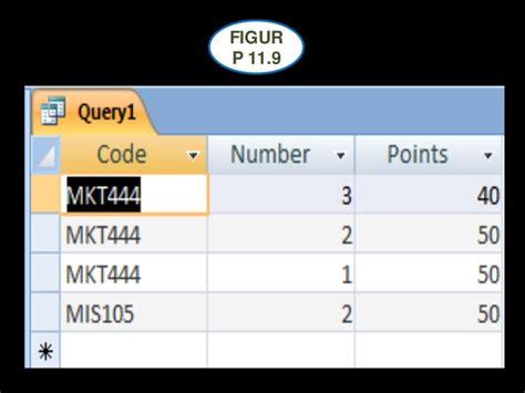 membuat query basis data proyek 11 query basis data basis data class project