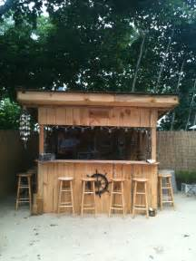 our backyard bar quot shawn s sand bar and grill