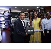 Mahindra Gifts Customised Thars To Rio Olympic Medallists