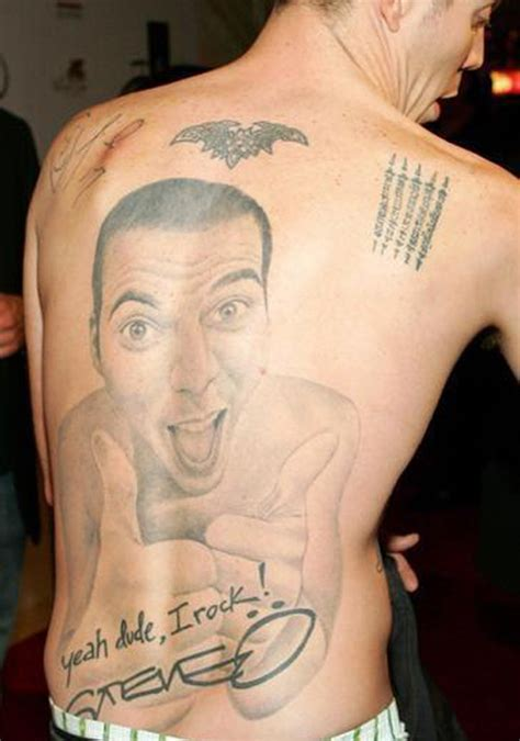steve o tattoos celebritiestattooed com
