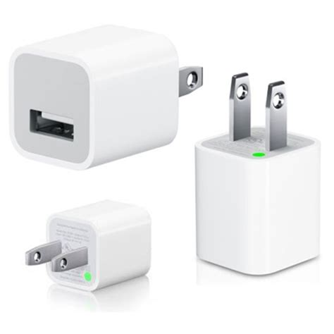 Adaptor Charger Iphone usb wall charger adapter for iphone ipod sparepartsusa