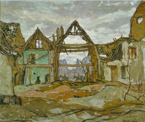 house of war official art house of ypres canada and the first world war