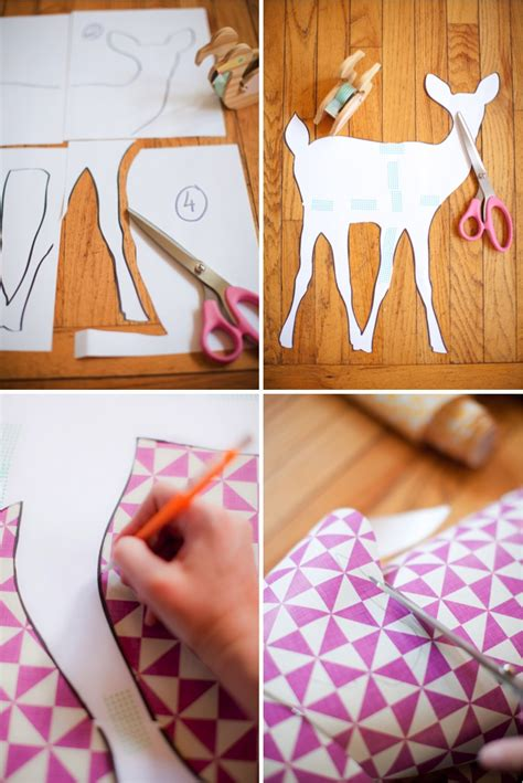How To Make A Sticker Out Of Paper - diy animal wall stickers with free printables