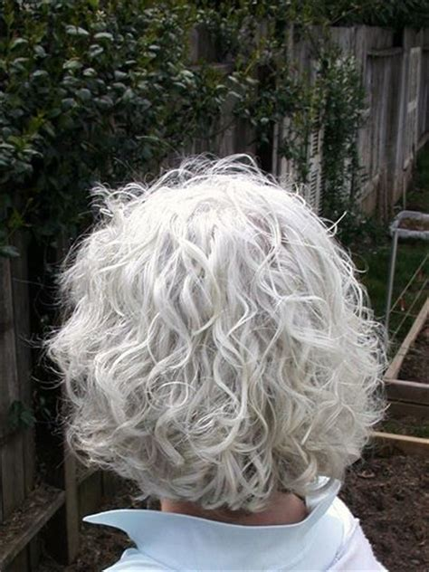natural curly shoulder length gray hairstyles 712 best images about beauty in gray white or silver on