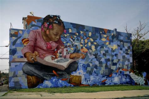 Wall Murals Los Angeles 30 examples of street art and murals about books