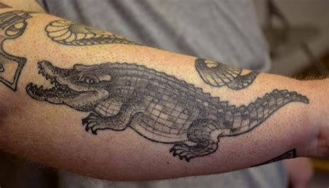 crocodile tattoo tattoos january 2012
