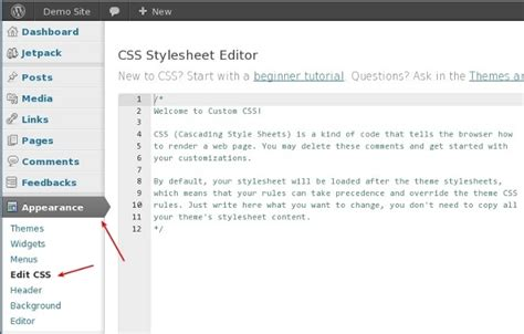 layout css wordpress custom css with jetpack for wordpress website design