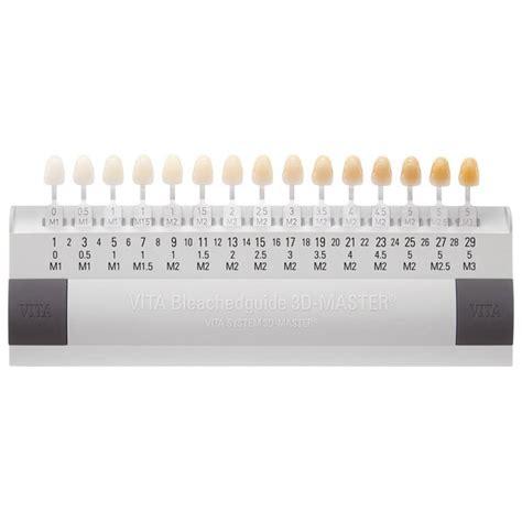 Dental Shade Guide Vita vita bleachedguide 3d master shade guide planning and