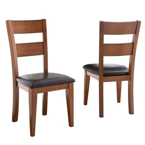 steve silver company mango dining chair in light oak go400sk