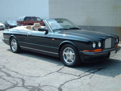 1997 bentley azure purchase used 1997 bentley azure convertible turbocharged