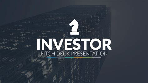 powerpoint templates for investors presentation investor pitch deck powerpoint template by louistwelve
