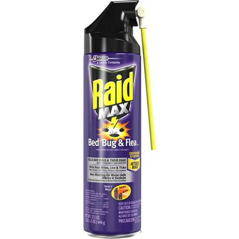 bed bug killer walmart raid max bed bug flea killer 17 5 oz walmart com