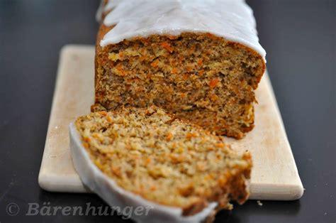 Karotten Walnuss Kuchen b 228 renhunger karotten walnuss kuchen