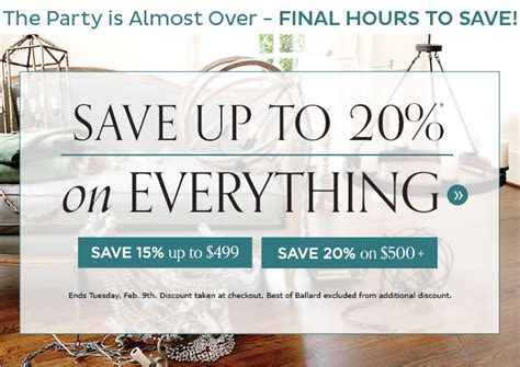 coupon code for ballard designs 28 20 ballard designs coupon 20 free