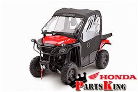 2015 honda pioneer 500 accessories bumpers windshields