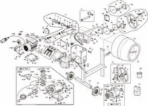 mixer drum maxi 140 parts diagram ebay