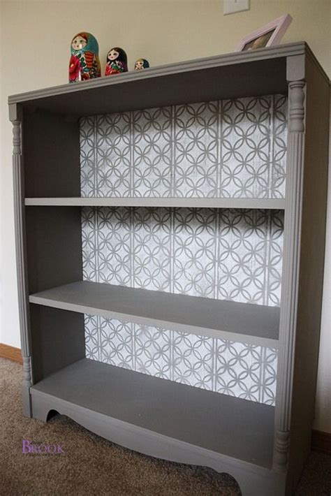 how to paint back of bookcase just a guide paint her bookshelf black and place a black
