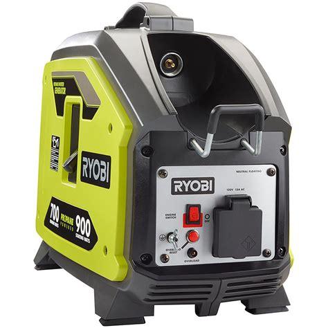 ryobi 900 watt propane powered inverter generator shop