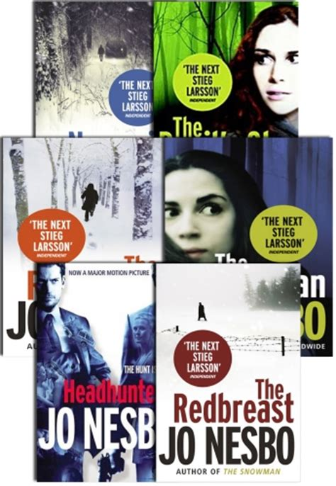 jo nesbo collection 9 jo nesbo collection 6 books set pack the redbreast nemesis