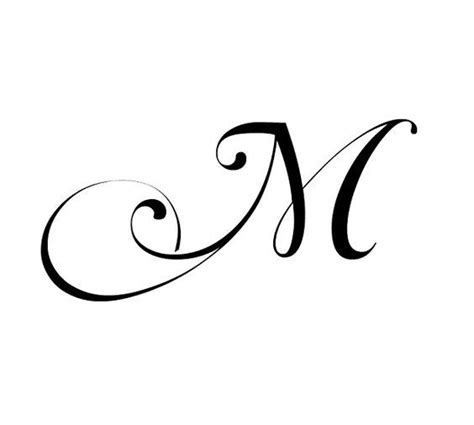 queen tattoo cursive fancy cursive letter m imgbucket com bucket list in