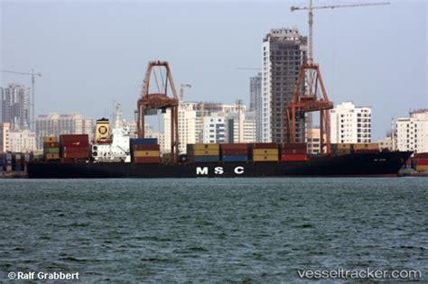 msc vessel schedule to msc qatar type of ship cargo ship callsign p3vd7