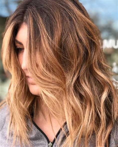 hairstyles with brown copper light brown stripes 33 light brown hair colors that will take your breath away