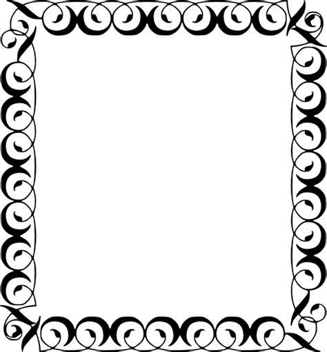 Decorative Border Clip Art at Clker.com   vector clip art