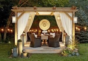 Pergola Bausatz 40 Pergolas Und Gartenlauben F 252 R Ihren Outdoor Covered Patio Lighting Ideas