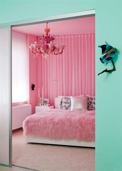 Pink Bedroom Accessories 3 Steps To A Girly Bedroom Shoproomideas