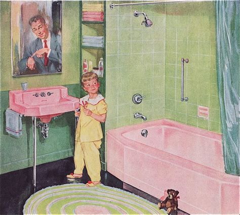 Pink And Green Bathroom by Pink And Green Bathroom Vintage Home