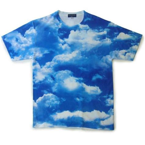 shirt clouds blue sky clouds t shirt wheretoget