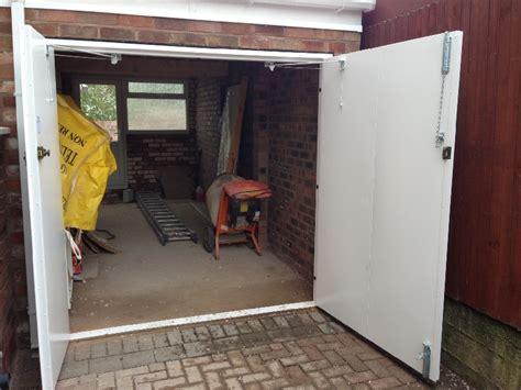 Side Opening Garage Doors garage door and gate installation picture gallery henderson garage doors