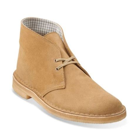 Sepatu Clarks Boots 5 mens desert boot oakwood suede clarks originals mens desert boots clarks 174 shoes