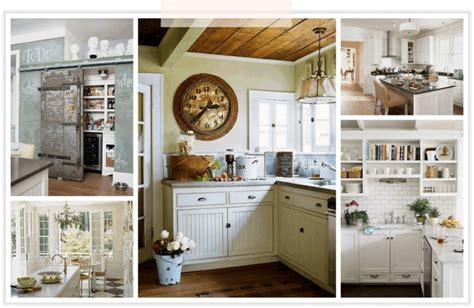 rustic white kitchens home sweet home