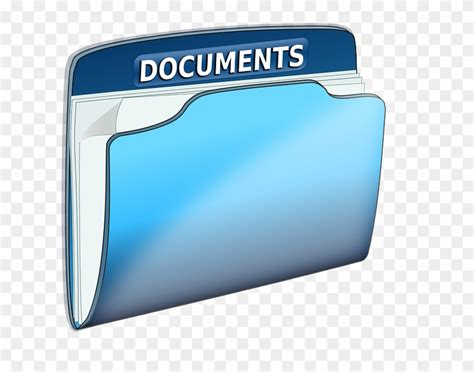 Documents Clipart Documents Folder Office Text File Blue Documents