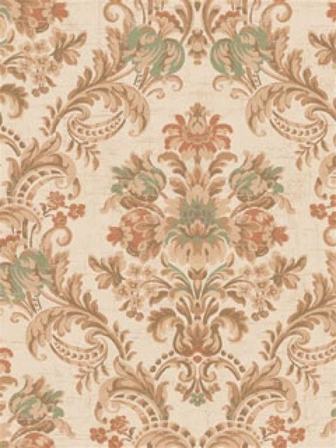red damask wallpaper home decor green brown and red petronius floral damask wallpaper