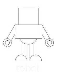 Robot Template by Paper Robot Template