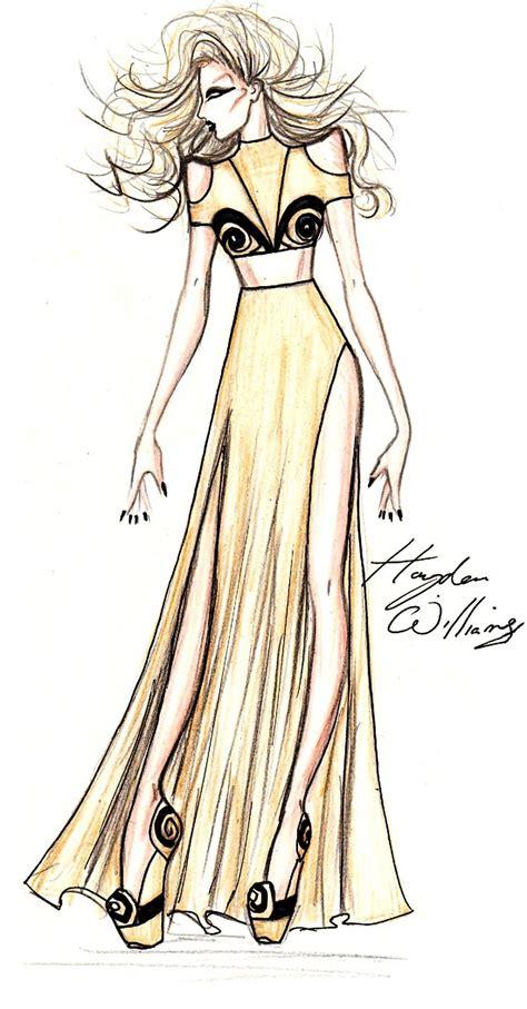fashion illustration of hayden williams fashion illustrations february 2011