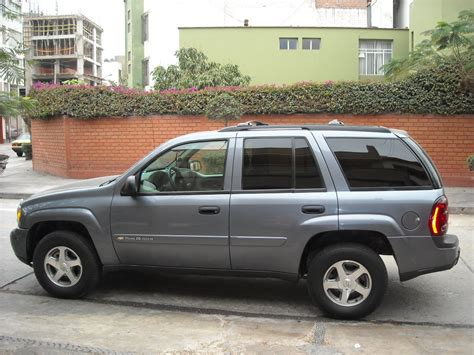2003 chevrolet trailblazer information and photos momentcar 2003 chevrolet blazer information and photos momentcar
