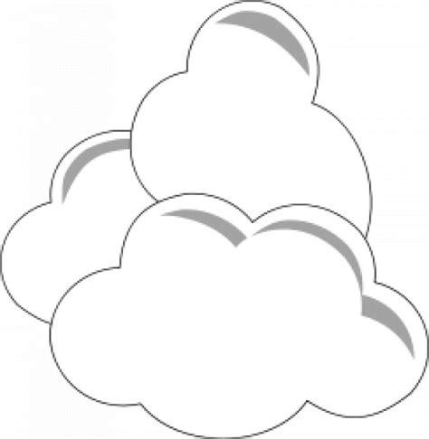 Kostenlose Vorlage Kündigung Sky Einfache Wolken Der Kostenlosen Vektor
